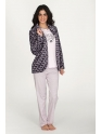 Conjunto de invierno · Bata chaqueta y pijama · Mujer · EGATEX · Cuore