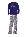 Pijama de invierno de hombre SOY Interlock Chapas