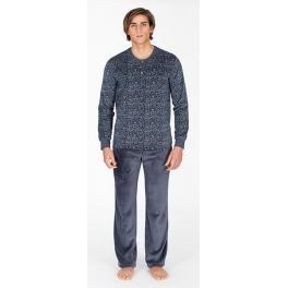 Pijama de invierno hombre SOY Tundosado Estampado