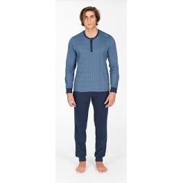 Pijama de invierno hombre SOY Puños Pantalón