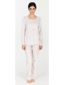 Pijama de invierno · Mujer · EGATEX · Estampado Flores