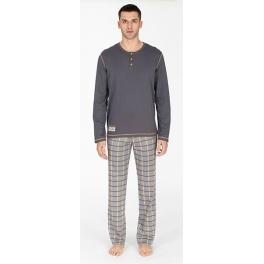 Pijama de invierno hombre SOY Pantalón Cuadros