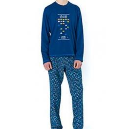 Pijama de invierno hombre SOY Cuello Redondo Arcade