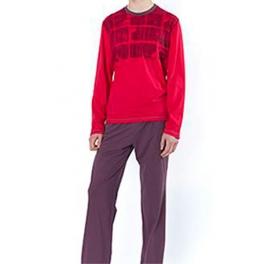 Pijama de invierno hombre SOY Cuello Redondo Cube