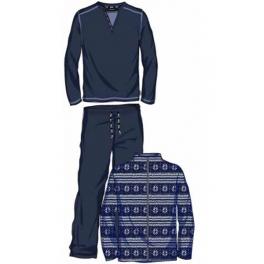 Conjunto bata corta y Pijama de invierno hombre SOY Cold