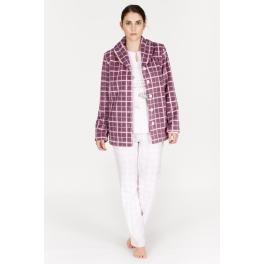 Conjunto bata corta y Pijama de invierno mujer EGATEX Alondra