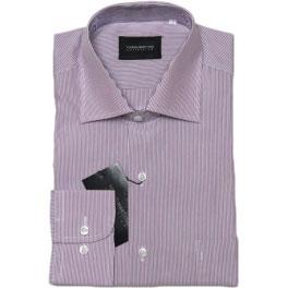 Camisa popelín hombre YOUNG MARTYNO rayas rosa y azul