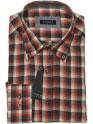 Camisa · Viella · Hombre · JORSA · cuadros roja · gris