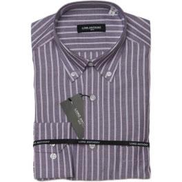 Camisa viella hombre LORD ANTHONY rayas lila