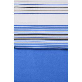 Juego sabanas invierno franela ATRIVM Thames 90 Azul