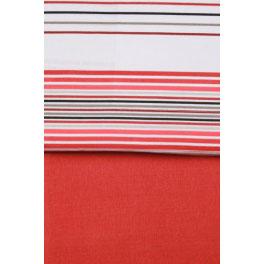 Juego de sábanas invierno franela ATRIVM Thames 90 Rojo