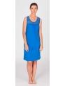 Vestido de verano · EGATEX · Combinado calado azul