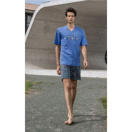 Pijama de verano hombre SOY Domino