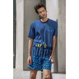 Pijama de verano hombre SOY Mecano