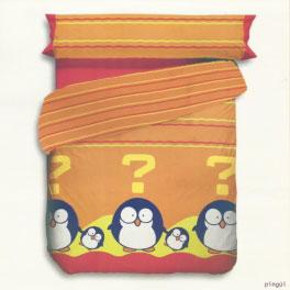 Juego de sábanas ATRIVM Funky Animals Penguin