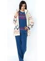 Conjunto de invierno · Bata chaqueta y pijama · Mujer · EGATEX · Winter