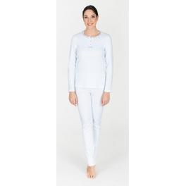 Pijama de invierno mujer EGATEX Pata de Gallo